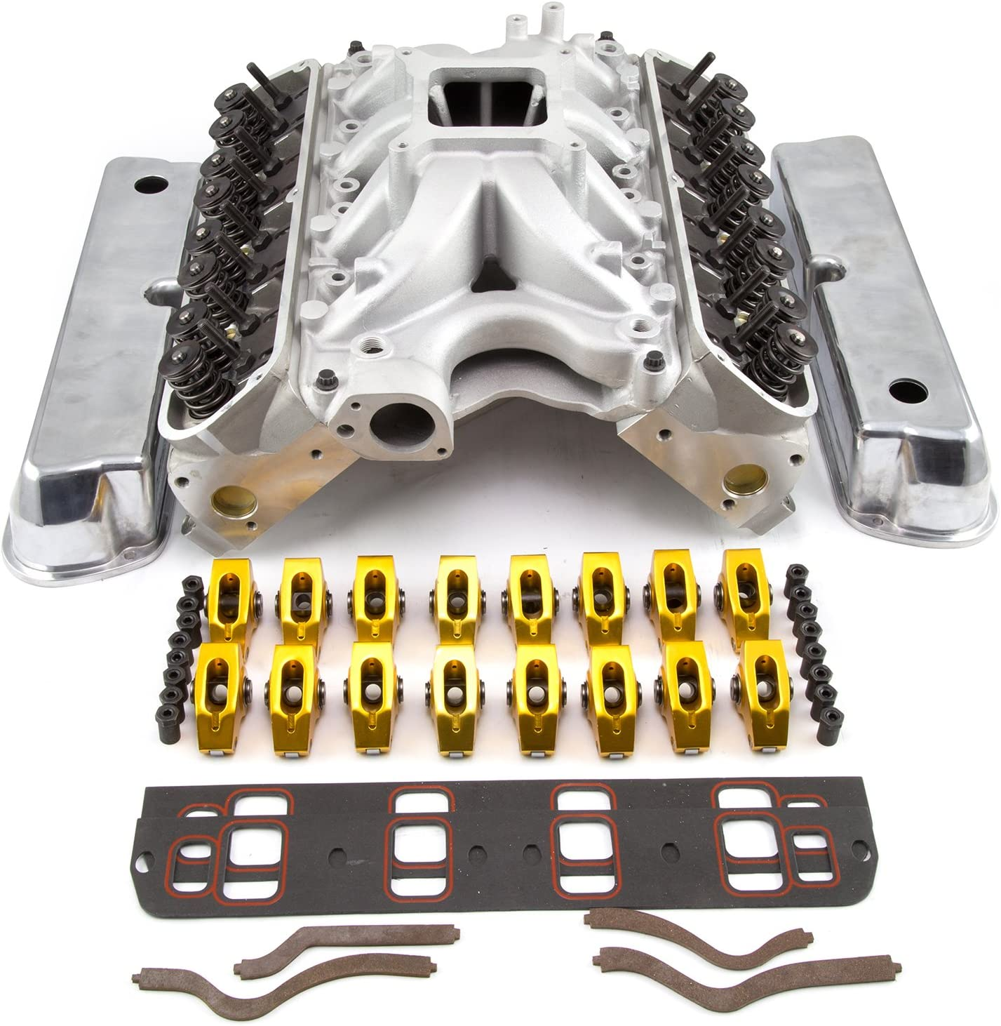 fits Ford 351W Windsor Hyd Roller 210cc Cylinder Head Top End Engine Combo Kit