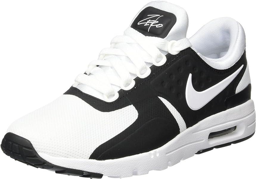 finest selection 90a57 2cee6 Nike Air Max Zero, Chaussures de Sport Femme, Noir (Black White)