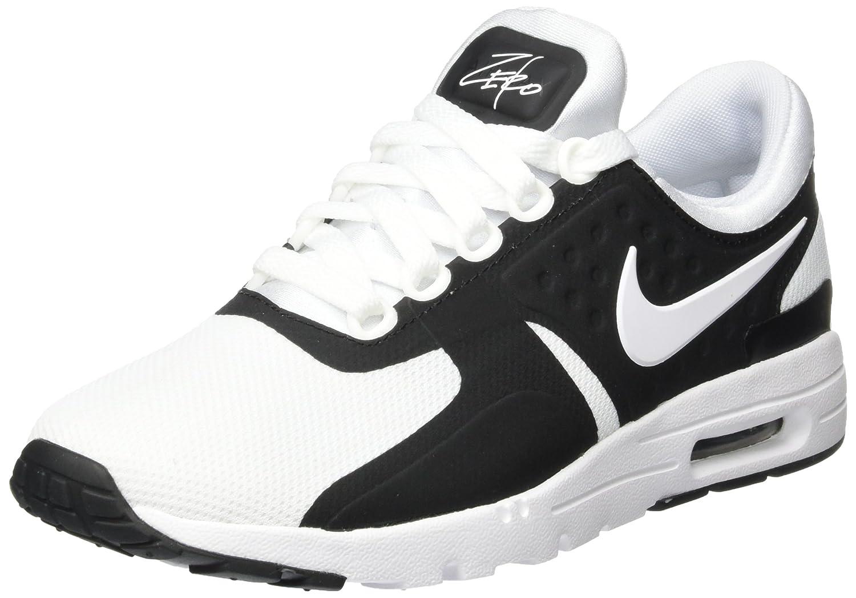 NIKE Women's Air Max Zero Running Shoe B01M6WJHA4 8.5 B(M) US|Black/White