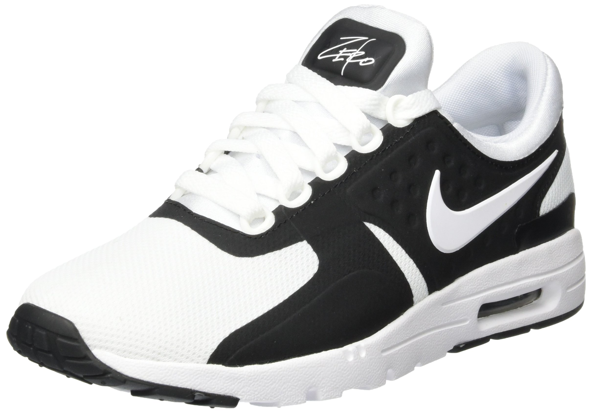 sale retailer 726af bae32 NIKE Air Max Zero Womens Running Shoes Black/White (8.5)