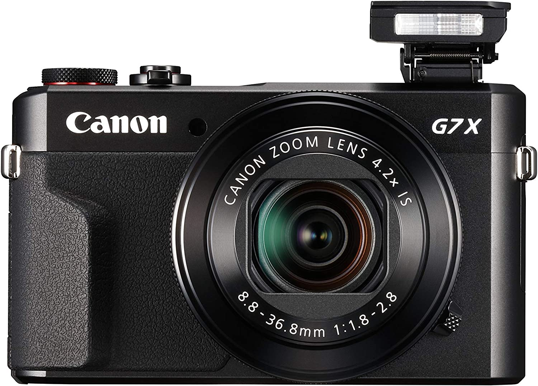 cámaras que usan los youtubers Canon PowerShot G7 X Mark II