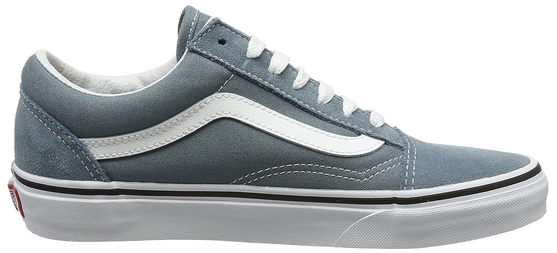 Vans Unisex Old Skool Classic Skate Shoes B01N2S7SEZ 8.5 M M US Women / 7 M M US Men|Goblin Blue/True White 0a2786