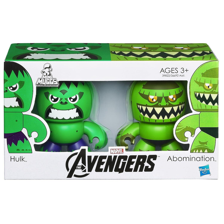 Marvel The Avengers Mini Muggs Hulk and Abomination Figures