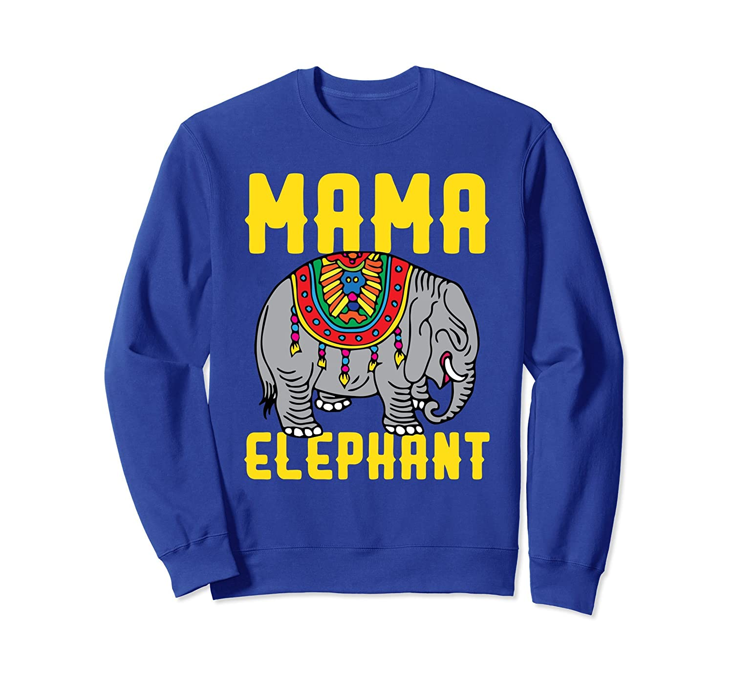 Awesome Mama Elephant Sweatshirt For Mothers Day 2018-alottee gift