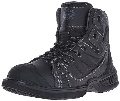 Harley-Davidson Men's Foxfield Motorcycle Boot, Black, ...