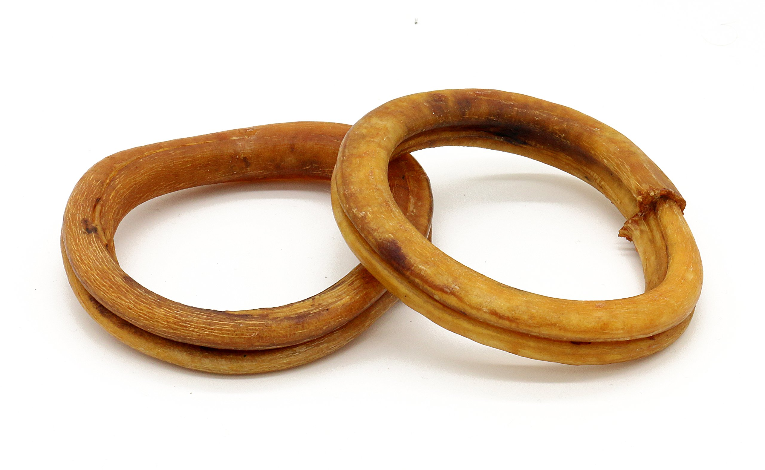 4 Inch Odor-Free Bully Stick Rings - All-Natural, Grass Fed (25 Rings)