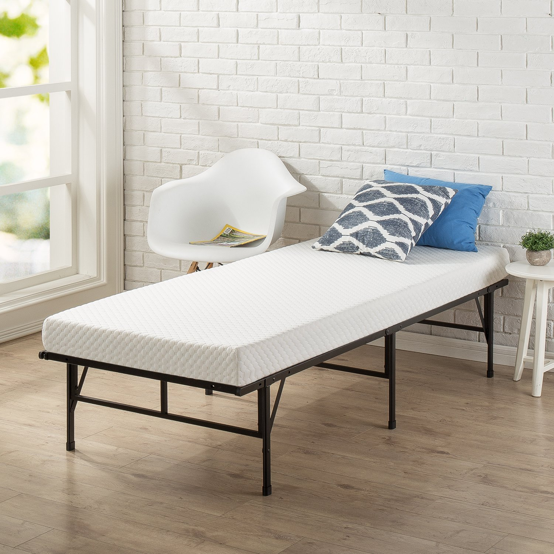 Zinus Memory Foam 4 Inch Mattress, Narrow Twin / Cot Size / RV Bunk / Guest Bed Replacement / 30'' x 75''