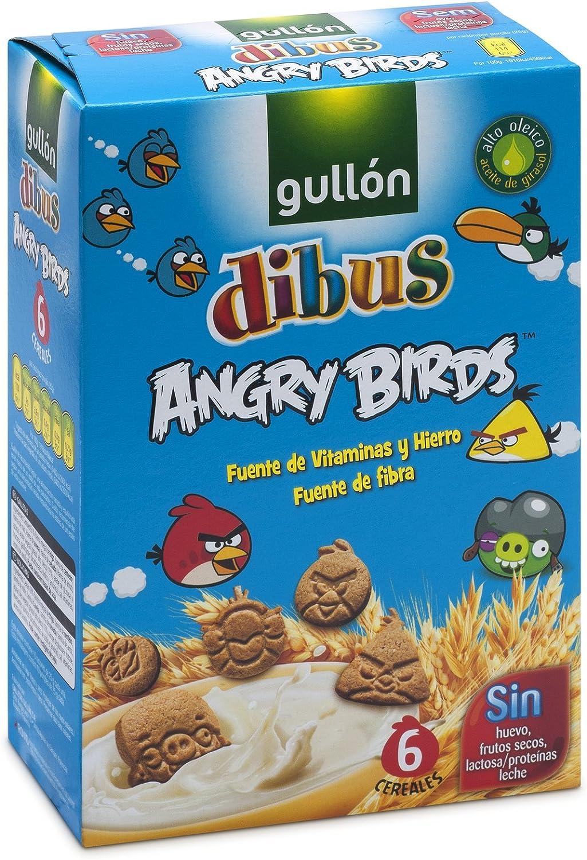 Gullón Galletas Dibus Mini Cereales Angry Birds - 250 g ...