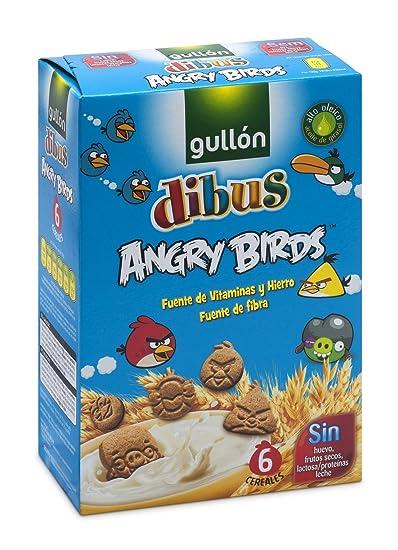 GULLON Dibus galletas angry birds caja 250 gr