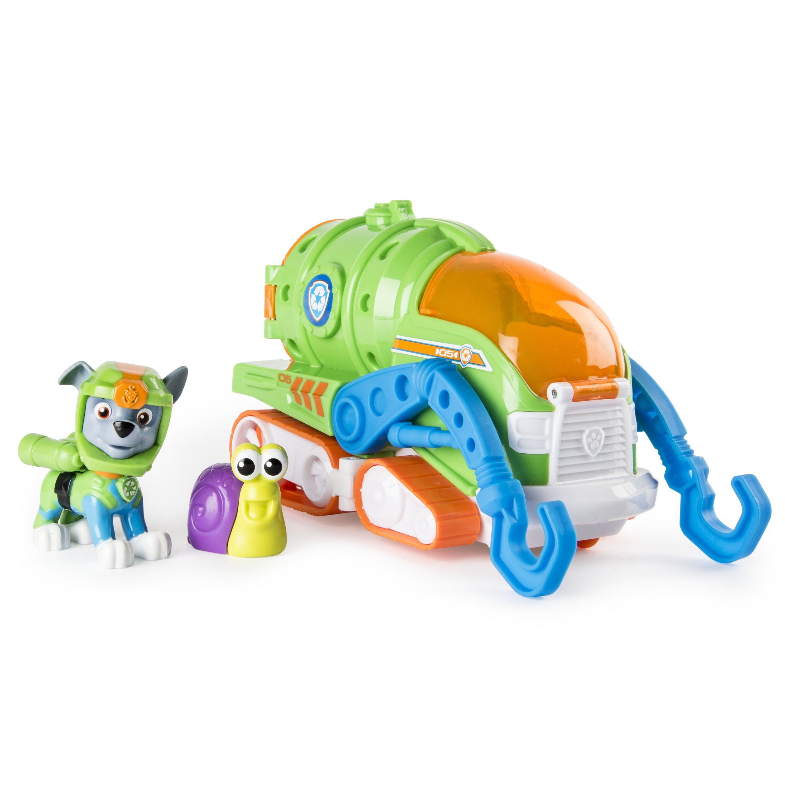 Sea Patrol - Rocky's Transforming Vehicle and Snail Sea Friend