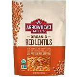 Arrowhead Mills Organic Red Lentils, 16 oz. Bag (Pack of 6)