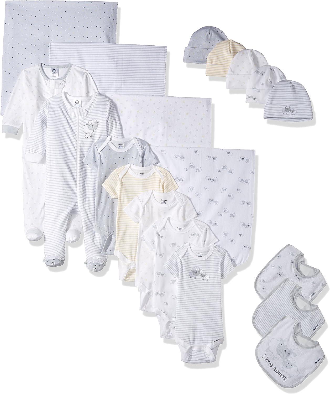 Gerber Baby Girls 9 Piece Playwear Bundle