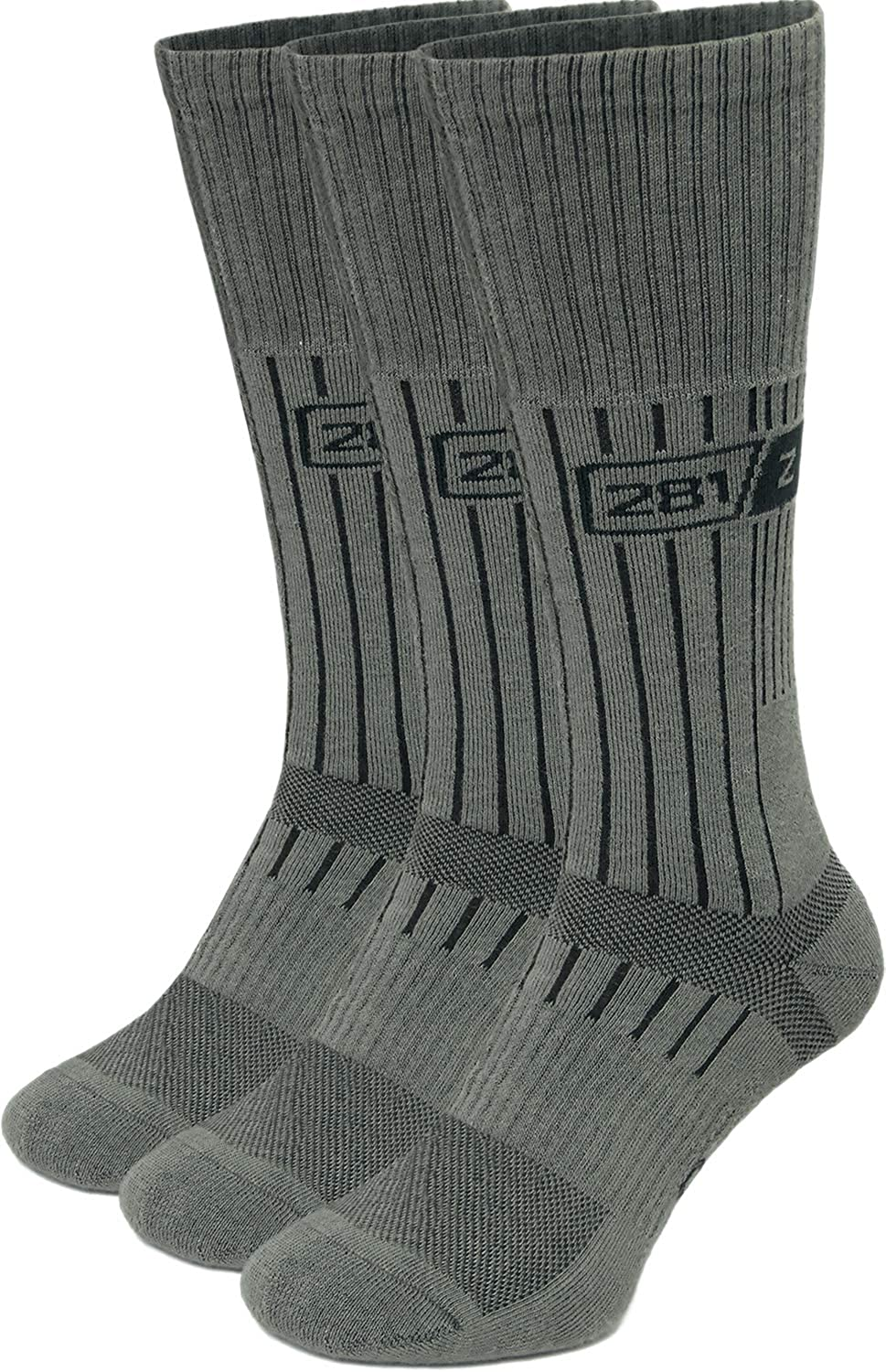 281Z Military Boot Socks Tactical Trekking Hiking Black Outdoor Athletic Sport