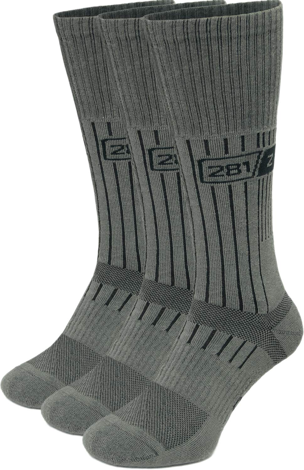 Military Boot Socks - Tactical Trekking Hiking - Outdoor Athletic Sport by 281Z (Sage Green)(Small 3 Pairs Pack) by 281Z