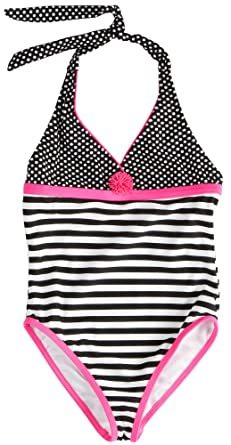 d99431a735 Amazon.com  Angel Beach Little Girls  Betty Boop One Piece Swimsuit ...