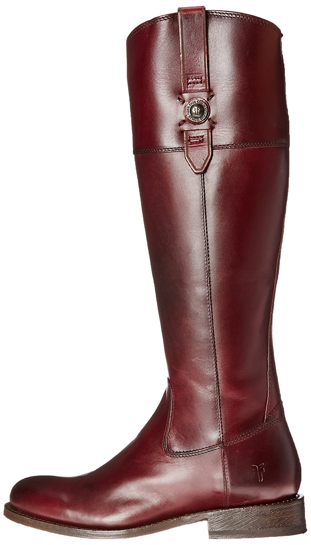 FRYE Women's Jayden Button Tall-SMVLE Riding Boot B00SISI6AM 9.5 B(M) US|Bordeaux-76095