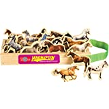 T.S. Shure Horse Breeds Wooden Magnets 20 Piece MagnaFun Set