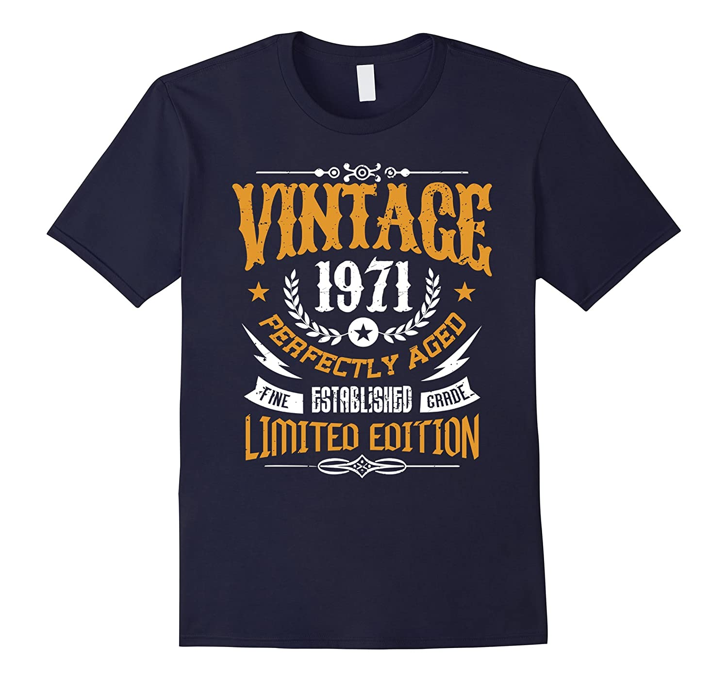 46th Birthday Gift T-Shirt Vintage 1971 - 46 Years Old Shirt-PL