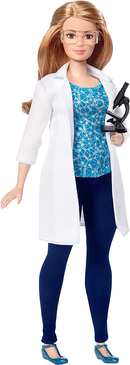amazon com barbie careers scientist doll toys games