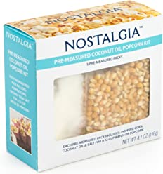 Nostalgia PCSP5 Popcorn Kit, Multicolor