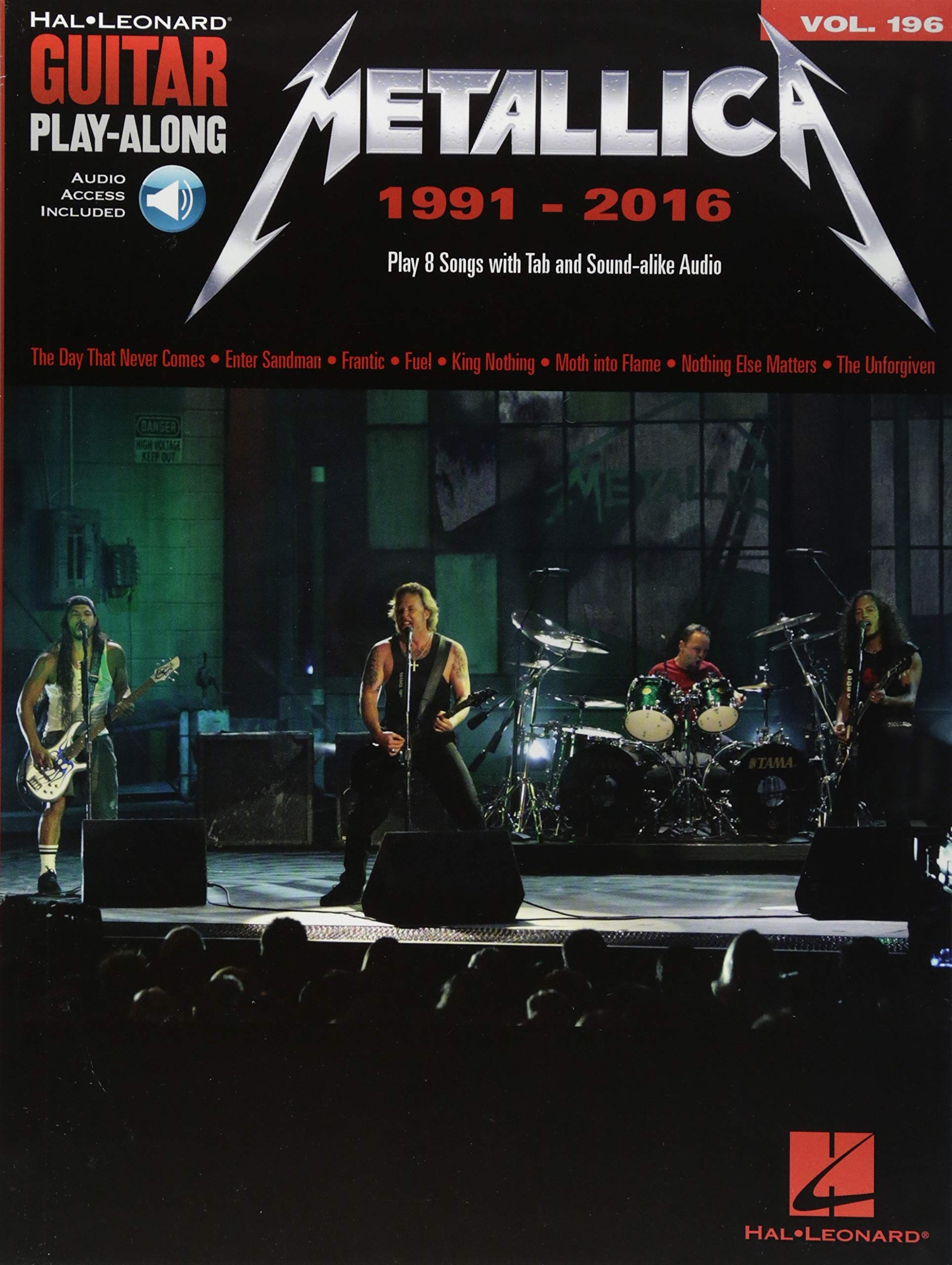 Guitar Play-Along Volume 196: Metallica 1991-2016 Book/Online ...