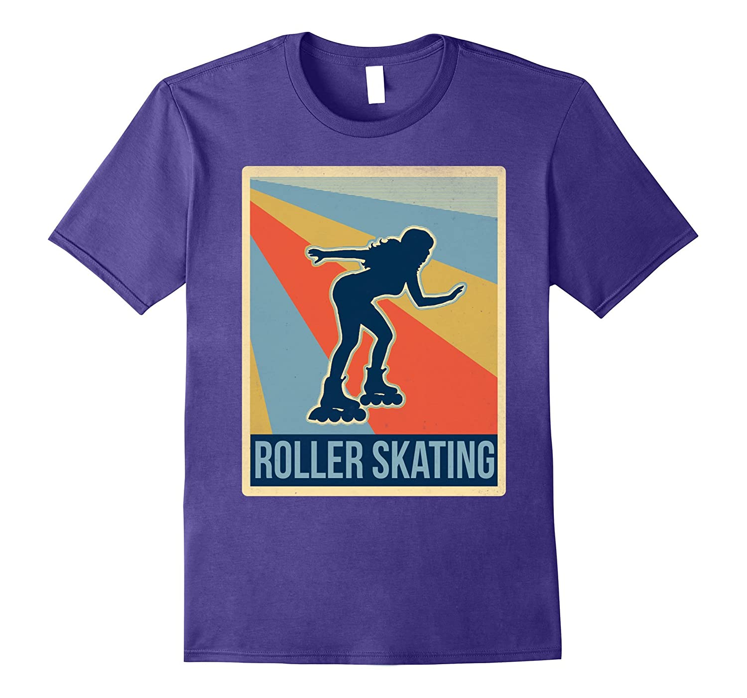 Retro Roller skating Awesome Shirt-Art