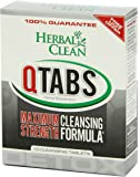 B.N.G. Herbal Clean Detox Q Tabs Maximum Strength Cleansing Formula, 10 Count