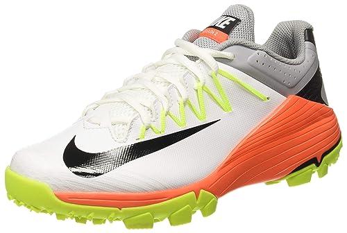 brand new 521c1 8e4be Nike Mens DOMAIN 2 NS White Cricket Shoes-5.5 UKIndia (38.5EU