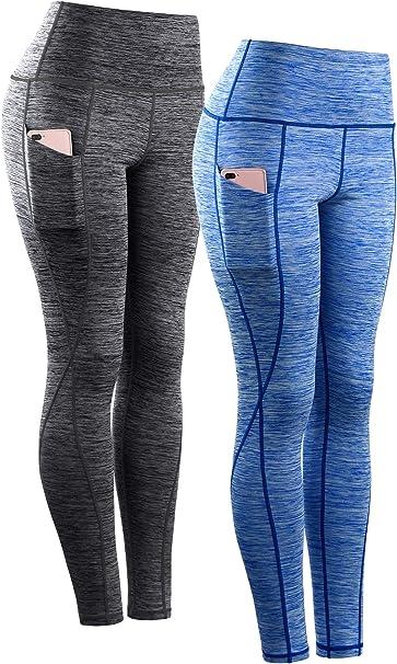 Amazon.com: Neleus - Leggings de yoga para mujer con ...
