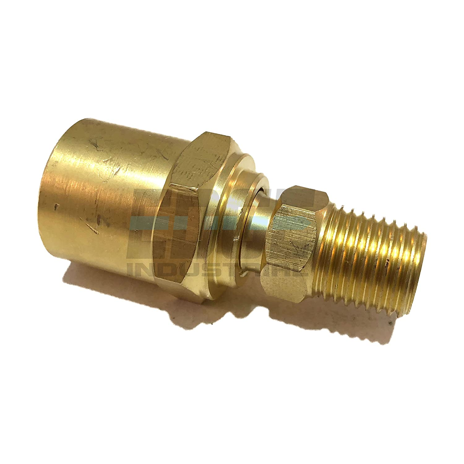1//4 Male Thread to Hose Barb Brass Straight Coupling Fitting  FT