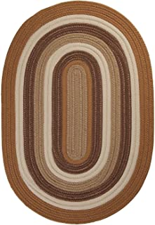 """product image for Colonial Mills Brooklyn Gold Oval 3'0""""x5'0"""" Braided Area Rug"""
