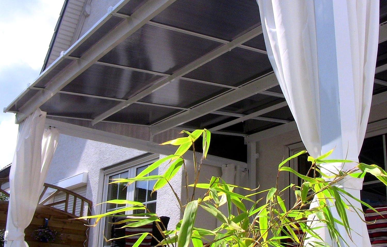 Leco - Toldo para terraza con Doble Plancha alveolar: Amazon.es: Jardín