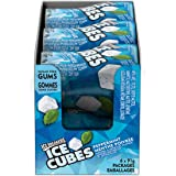 ICE BREAKERS ICE Cubes Peppermint Sugar Free Gum, Box of 6 Bottles * 40 Pieces