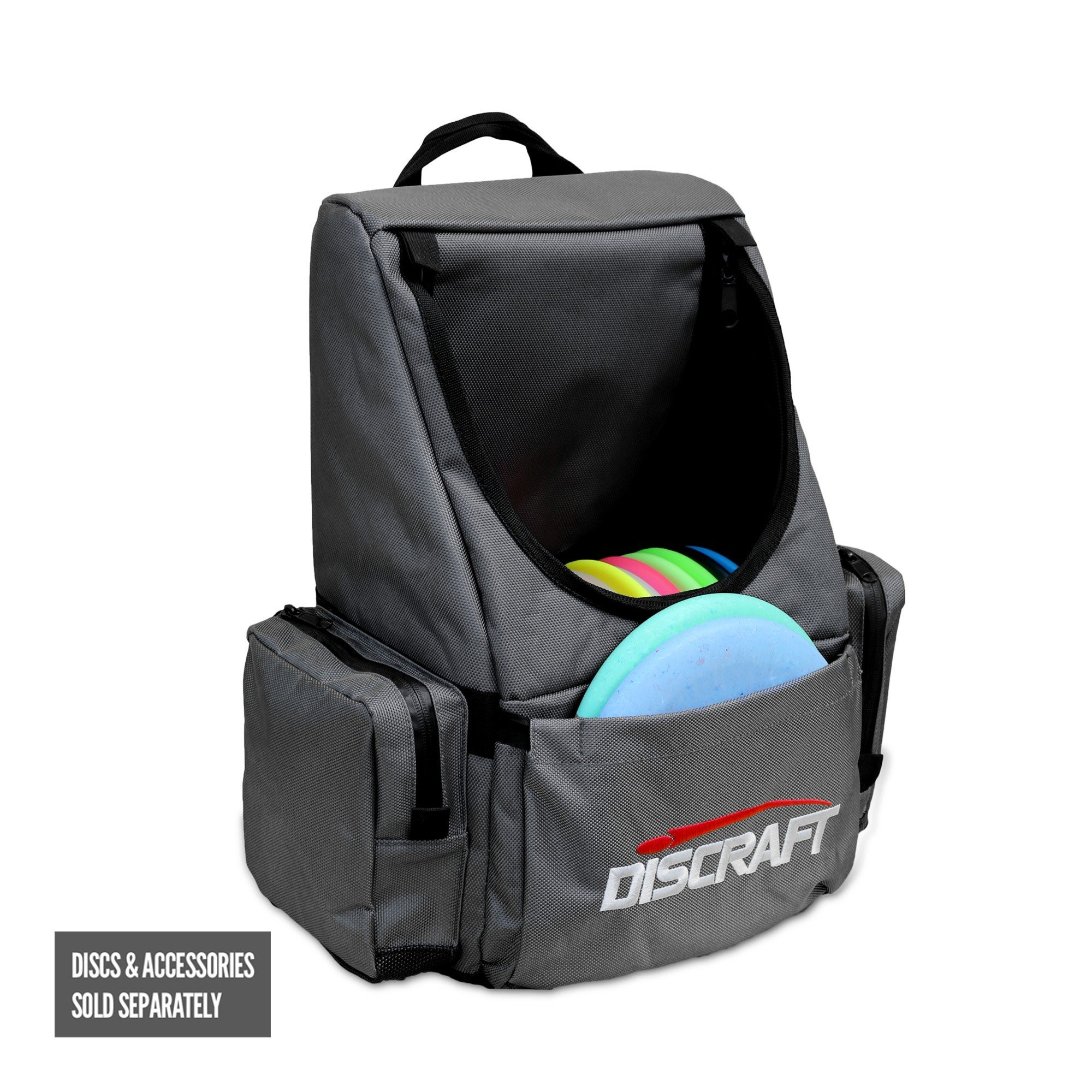Discraft Disc Golf Bag Backpack Tournament Bag, Gray by Discraft