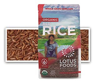 Lotus Foods Gourmet Organic Red Rice, 0.94 Pound (Pack of 6)