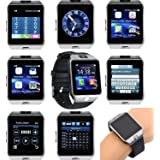 Bulfyss Samsung Android/Ios Mobile Wrist Watch Phone Compatible With All Models Ceritfied Sw Bluetooth Smart Watch Phone With Camera And Sim Card Support With Apps Like Facebook And Whatsapp Touch Screen Multilanguage With Activity Trackers And Fitness Band - Assorted Color