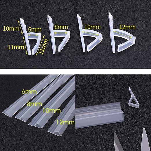 dDanke - Tira de Sellado Flexible de 100 cm de Longitud para ...