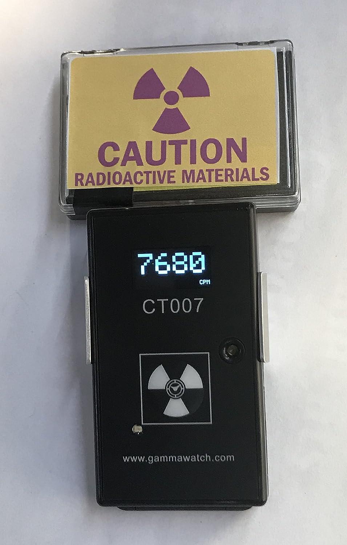 CT007-F Radiation and Radioactive Contamination Detector - Complete Alpha, Beta, Gamma Detection - Bluetooth 4.0