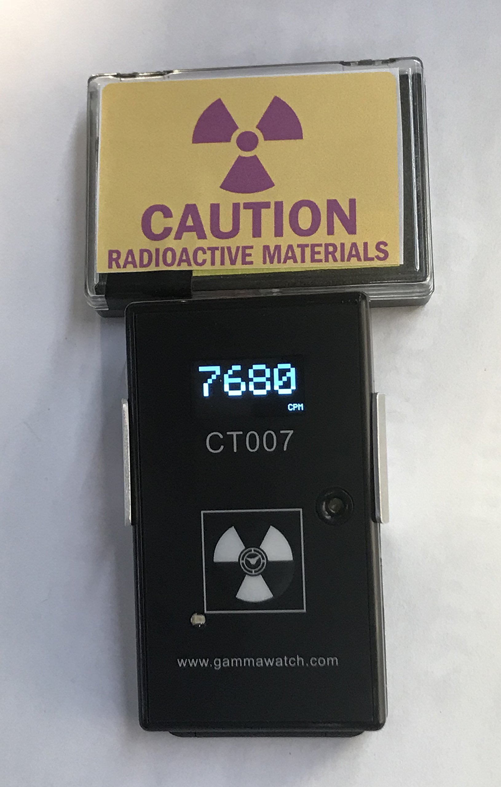 CT007-F Radiation and Radioactive Contamination Detector - Complete Alpha, Beta, Gamma Detection - Bluetooth 4.0 by Environmental Instruments Canada Inc. (Image #6)
