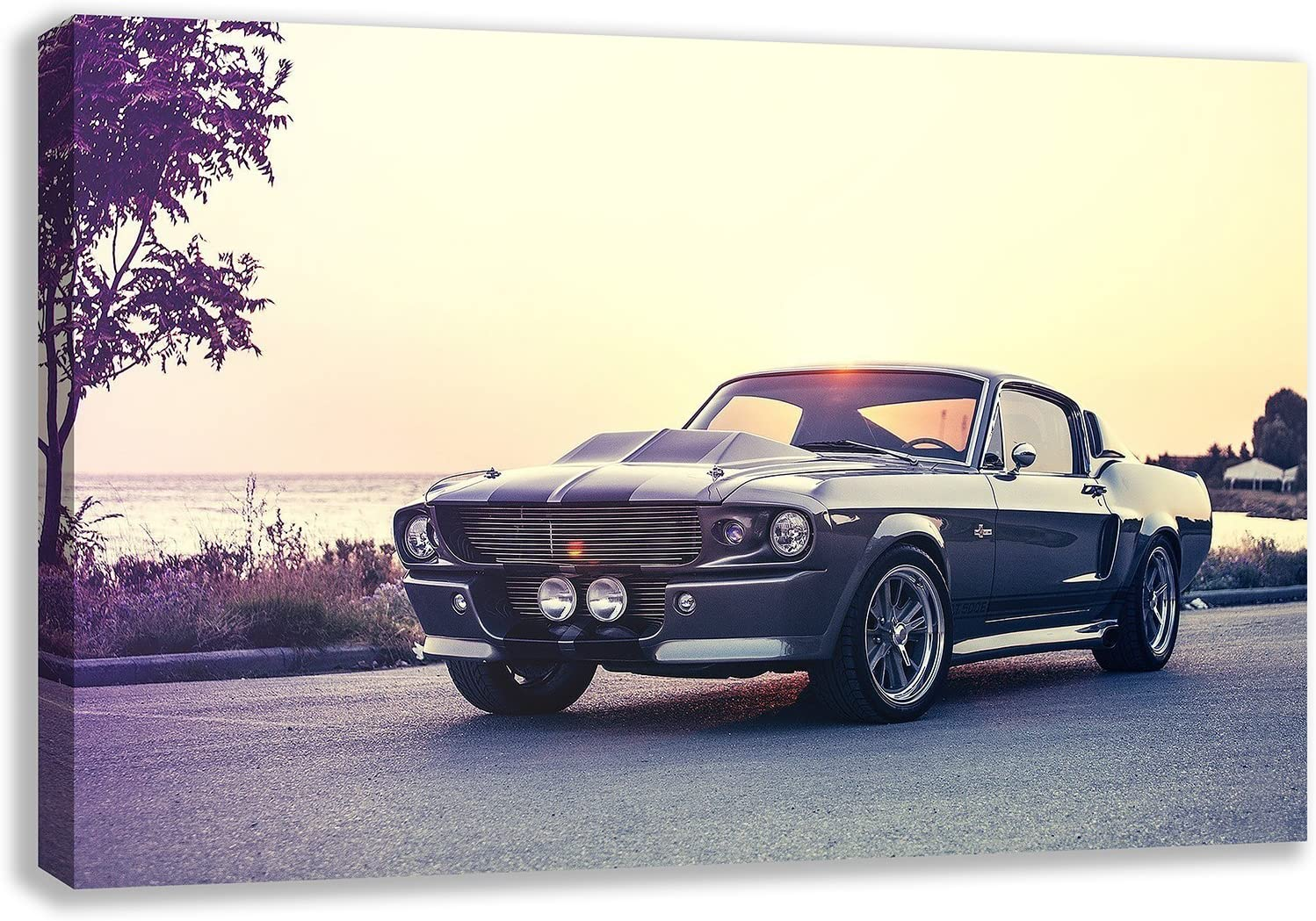 OVER 1 METER WIDE Poster! 4 Ford Mustang Shelby Cobra 1967 GT500 Eleanor