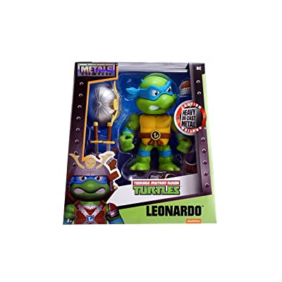 Metals TMNT 6 inch Classic Figure - Leonardo w/ Armor (M42): Toys & Games