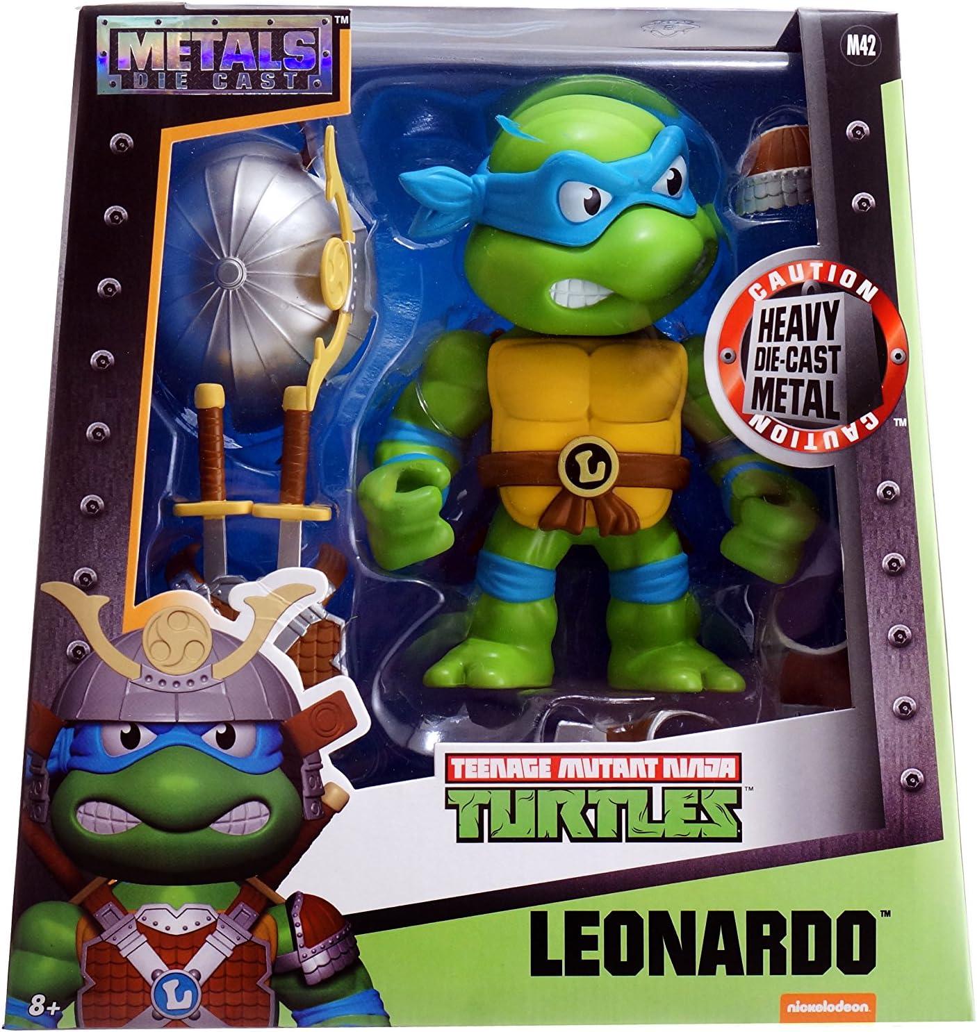 Metals TMNT 6 inch Classic Figure - Leonardo w/ Armor (M42)