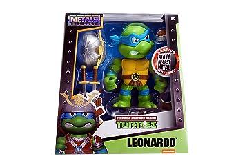 Tortugas Ninja Mutant 97543 Leonardo de 15 cm con Figura de ...