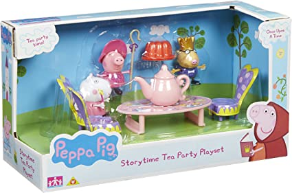 Amazon.com: Peppa Pig Once Upon a Time Storytime Tea Party ...