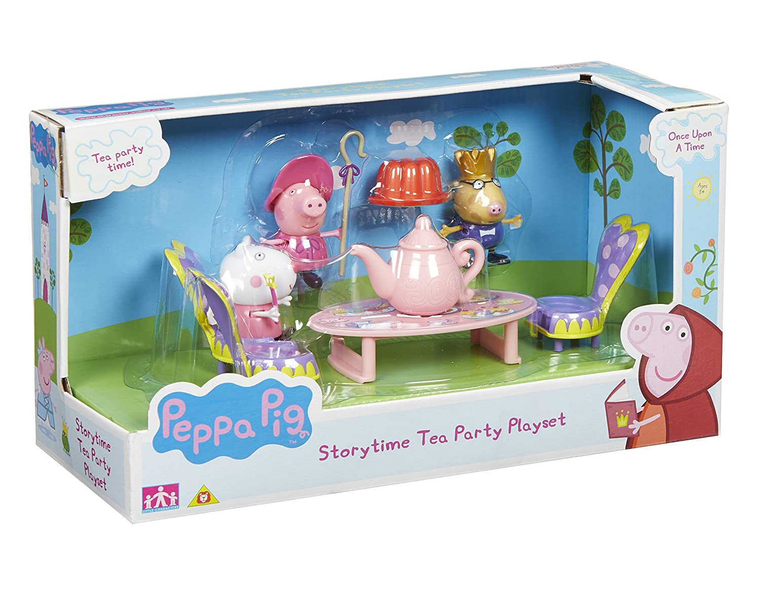 Amazon.de:Peppa Pig / Peppa Wutz - Once Upon a Time - Tee-Party ...