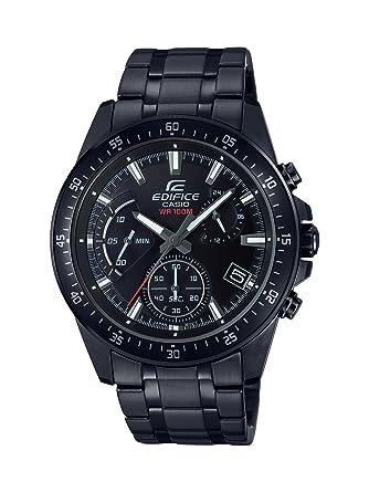 Casio Reloj Analogico para Hombre de Cuarzo con Correa en Acero Inoxidable EFV-540DC-1AVUEF: Amazon.es: Relojes