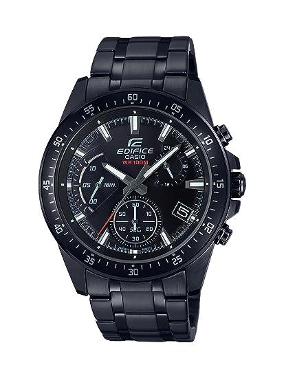 Casio Reloj Analogico para Hombre de Cuarzo con Correa en Acero Inoxidable EFV-540DC-1AVUEF