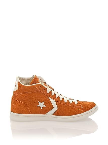 Converse - Converse Pro Leather Mid Men's Sports Shoes Orange Leather 141604C