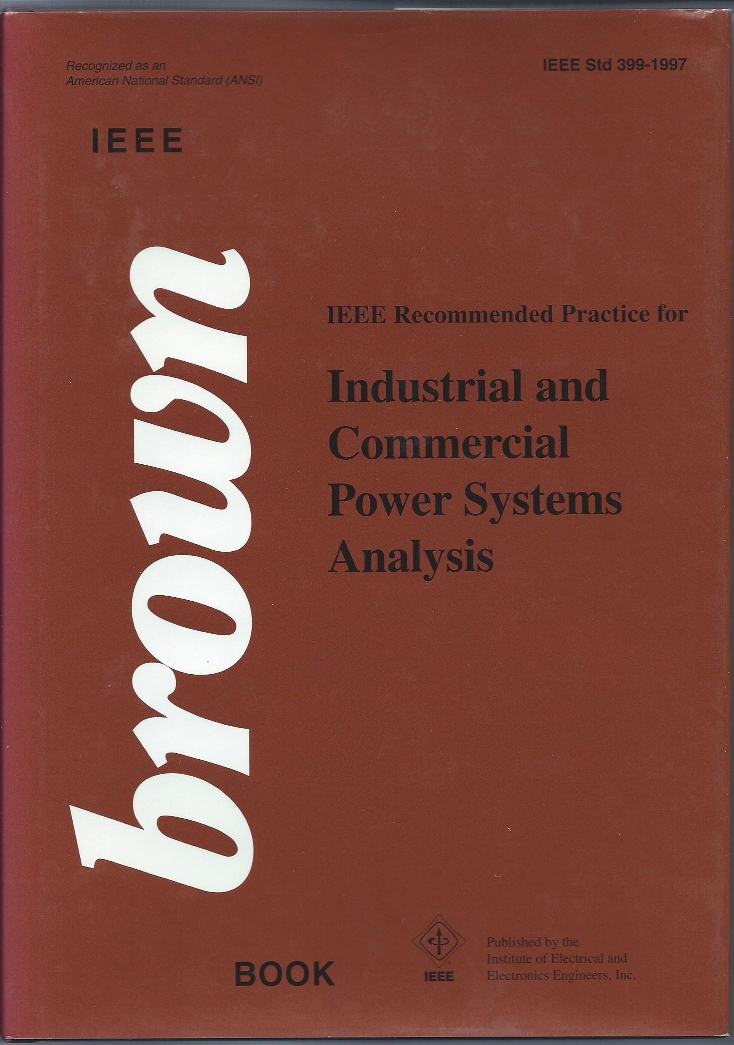 IEEE Re mended Practice for Industrial and mercial Power