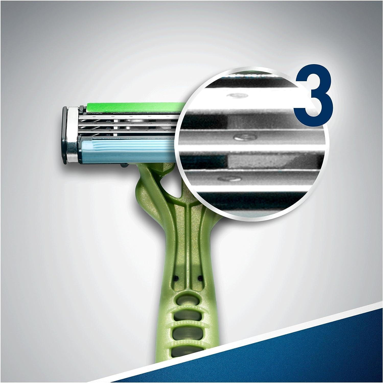 Afeitadora desechable para caballeros Gillette Blue3 Sensitive ...